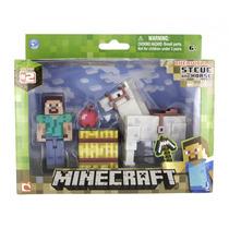 Minecraft Steve Com Cavalo Multikids Br476 Game Original!
