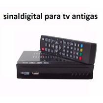 Aparelho Conversor De Sinal Digital Para Tv Antigas De Tubo