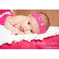 Conjunto Newborn Crochê E&f.