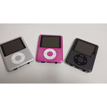 Mp4 Player + Gravador Voz + Radio Fm + Fone+usb+filmes 1gb