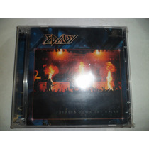 Cd Nacional Duplo - Edguy - Burning Down The Opera Live