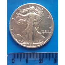 Estados Unidos - Walking Liberty Half Dollar - 1935 S/ Letra