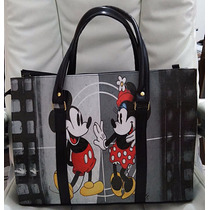 Bolsa Mickey Minnie Moda Feminina Notebook Personagem