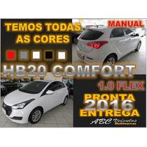 Hb20 Comfort 1.0 Flex Completo - 16/16 Pronta Entrega D158