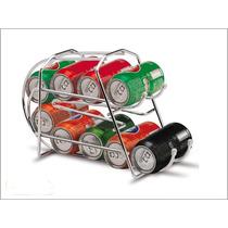 Suporte Latas Refrigerantes/cervejas/sucos 350ml Cromado