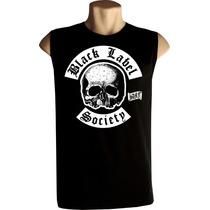 Camiseta Regata Machão Black Label Society Bandas Rock