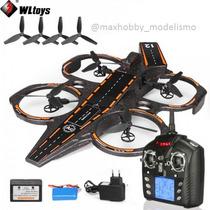 Porta Avião Drone Lancha Wltoys Q202 2.4g 4ch 6 Axis Com Led