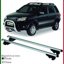 Par De Travessa Rack De Teto Ford Ecosport 2007 A 2012