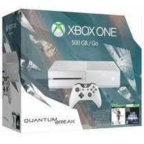 Xbox One 500gb White Branco Quantum Break Bundle E-sedex