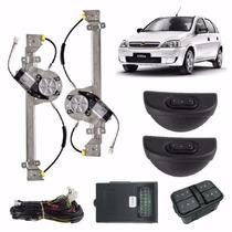 Kit Vidro Eletrico Corsa Novo/sedan 4p Traseiro