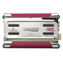 Modulo Booster Ba-1804.4 3000w (4) Canal Na Caixa