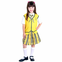 Fantasia Carrossel Amarelo Feminino Infantil Sulamericana