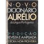 Novo Dicionário Aurélio Da Língua Portuguesa