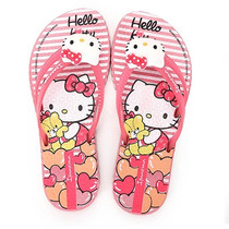 Chinelo Infantil Ipanema Hello Kitty Pop - 23 Ao 31 - Rosa