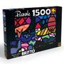 Quebra Cabeça Puzzle Grow 1500 Peças Romero Britto 02623