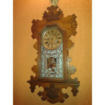 Relíquia: Relógio Ansonia Buffalo Wall Clock- New York/1894
