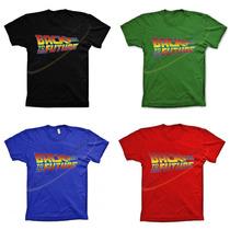 Camiseta Camisa Algodão Infantil Adulto Back To The Future