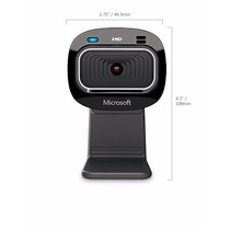 Webcam Microsoft Lifecam Hd-3000 Usb Resolução 720p Preta