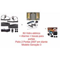 Kit Palio 2p Modelo G3 - Vidro Elétrico + Travas + Alarme
