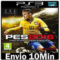 Pes 16 Pro Evolution Soccer 2016 # Ps3 Psn Dublado Português