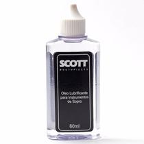 12 X Óleo Lubrificante P Instrumentos Sopro Scott 60ml