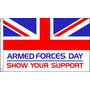 Bandeira - Dia Das Forças Armadas 5ftx 3ft De Ilhós Metál