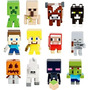 Minecraft Grass Series Mattel Toys 36 Bonecos Game Sets