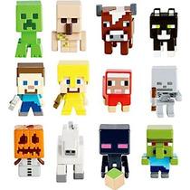 Minecraft Grass Series Mattel Toys 36 Bonecos Game Sets