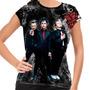 Camiseta Punk Rock Green Day American Idiot Baby Look