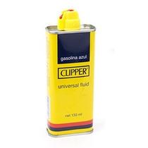 Fluido Clipper Original Para Isqueiro 133ml Gasolina Azul