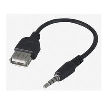 Cabo Adaptador Plug P2 X Usb Femea Para Autorádio Mp3/mp4 !!