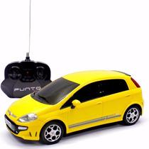 Carro - Controle Remoto - Fiat Punto T-jet - 1:18 - Cks