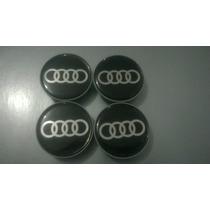 Calota Centro De Roda Audi A1 A3 A4 A5 A6 A7 A8 Tt R8 49mm