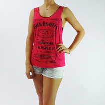 Regata Jack Daniels Pink Feminina