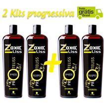 Combo 2 Kit Progressiva Zax Prote Liss 2 P. + Frete Grátis