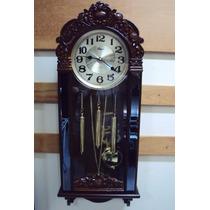 Relógio Parede Carrilhão Sx Westminster Pendulo Novo