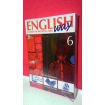 Livro, Cd, Dv English Way- Vol 6 O Curso De Inglês Da Abril