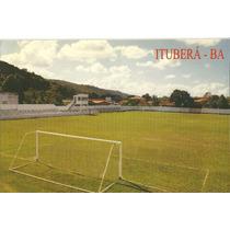 Postal Futebol Brasil Itubera Ba