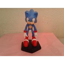 Sonic - Boneco De Resina 18,5 Cm Lindo-oferta
