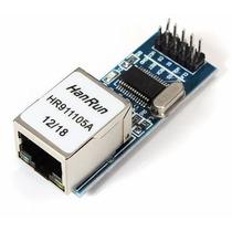 Módulo Ethernet Shield Enc28j60 P Arduino Pic Automação