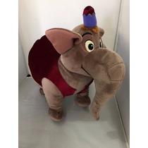 Abu Como Elefante Pelúcia 35cm Aladim Disney Store Original
