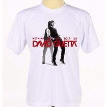 Camiseta Camisa Estampada Música Eletrônica David Guetta