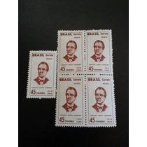 Visconde De Porto Seguro/1966 - Ae 105 - Quadra + 1 Selo
