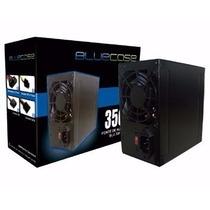 Fonte Atx 350w Reais Blue Case Blu350k | Frete Barato + Nf