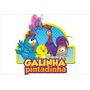 Painel Decorativo Festa Infantil Galinha Pintadinha (mod6)