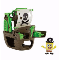 Bob Esponja Navio Do Pirata Fisher Price Imaginext