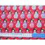 1 Metro Tecido 100% Algodão Estampado Boneca Japonesa Tjap1