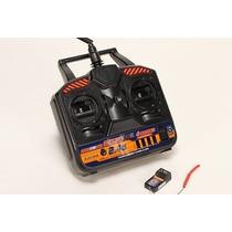 Radio Hobby King 2.4ghz 4ch Tx Modo2 Aviao Helicoptero Drone