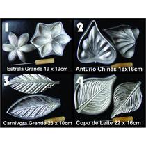 Kit Frisador Flores Eva Em Alumínio 4 Peças + Apostila
