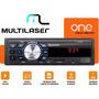 Radio Multilaser One Som Automotivo